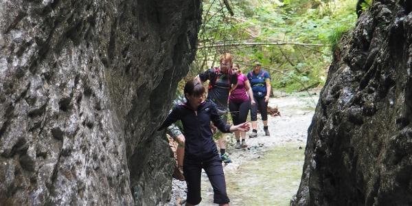 Dolina Piecky - odbočka k postrannímu vodopádu