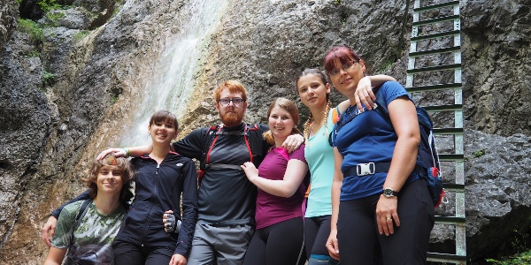 Dolina Piecky - dod Velkým vodopádem