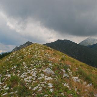 Die Gipfelregion der Cime d'Anan