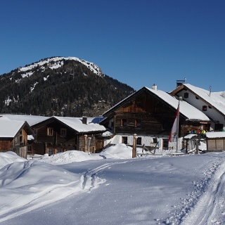 Sattelberalm Winter