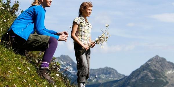 Hiking in the Silvretta-Montafon region