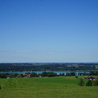 Blick auf den Simssee von Bergham