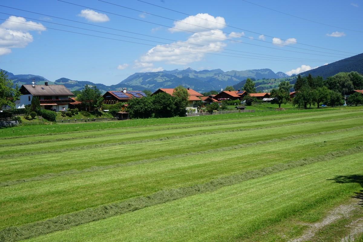 Blick auf Kiefersfelden vom Innradweg West