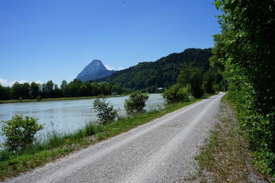 Innradweg im Chiemsee-Alpenland (Etappe Kiefersfelden - Wasserburg am Inn Westvariante)