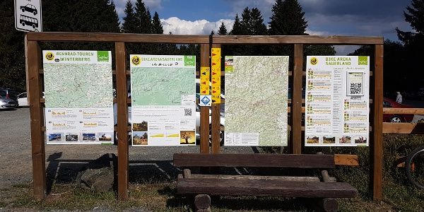 Startpunk bei Winterberg