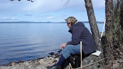 Vila längs Stråsjöleden