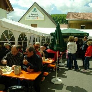 Bierfest bei der Brauerei Hilsenbeck in Gruibingen