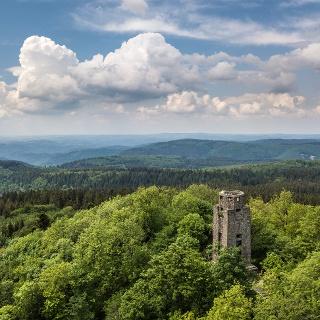 Blick auf den Kaiser-Wilhelm-Turm