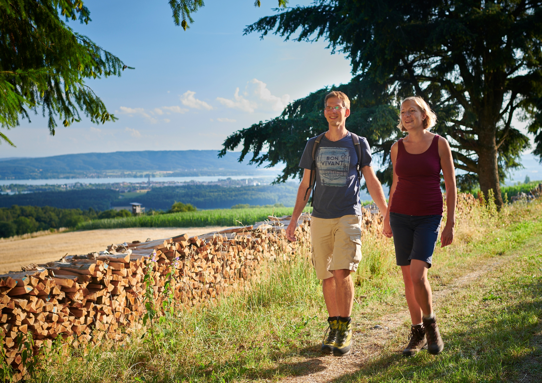 Wanderer am Mühlsberg