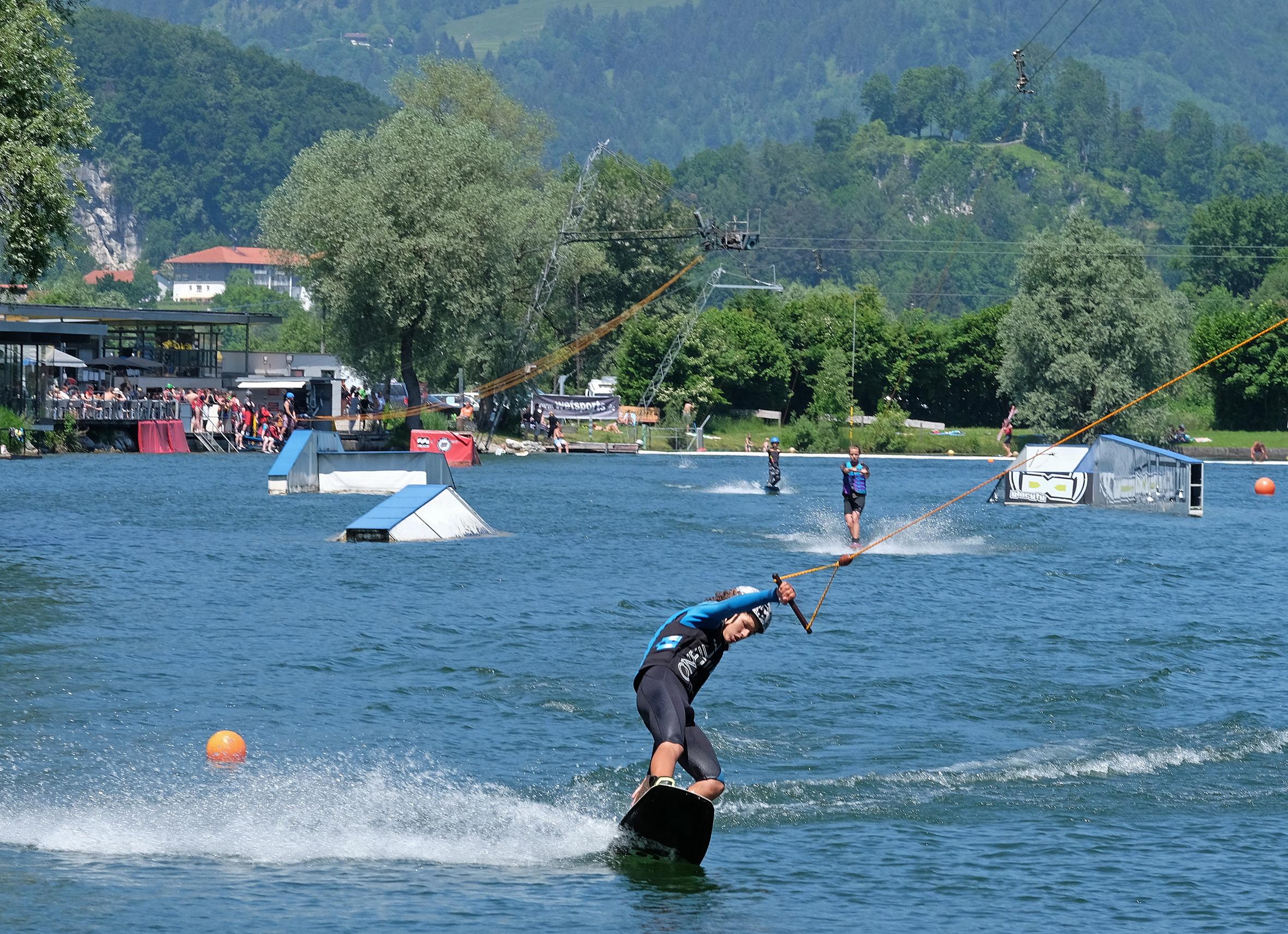 Hödenauer See Wasserskilift, Kiefersfelden