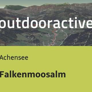 Mountainbike-tour am Achensee: Falkenmoosalm