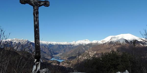 Vista sulla Valle di Ledro da Cima Bal