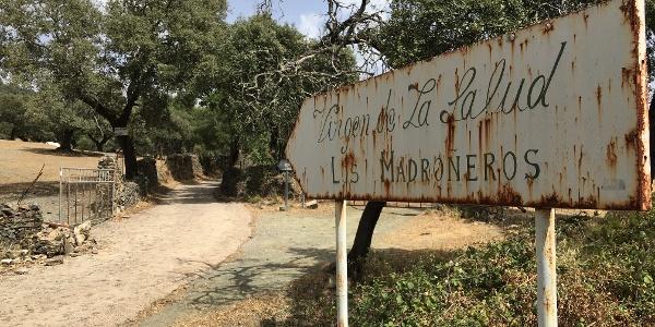 The path to Los Madroneros.