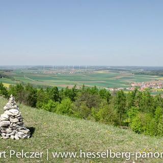 Blick vom Gelben Berg auf Sammenheim