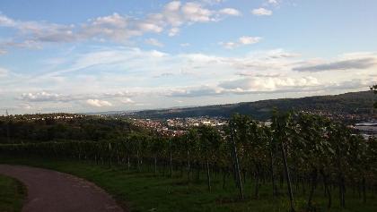 Aussicht Richtung Esslingen