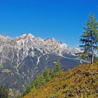 Die Südflanke der Lechtaler Alpen