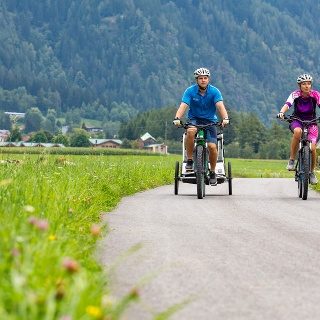 Ötztal Radweg Oetz