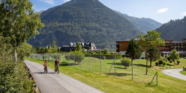 Ötztal Radweg Längenfeld