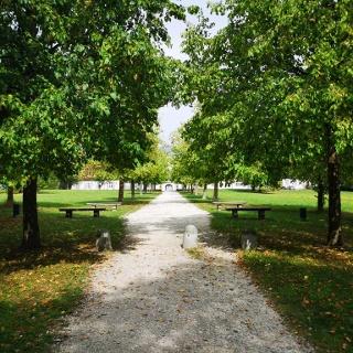 Park von Schloss Solitude
