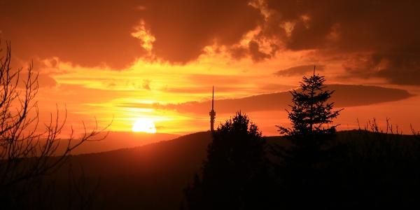 A tv-torony Pécs és a Mecsek jelképévé vált