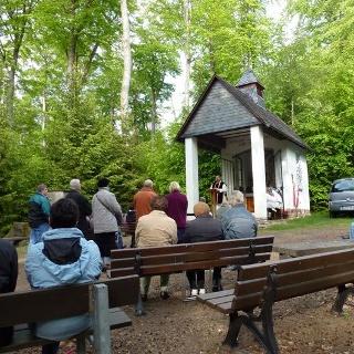 An der Waldkapelle Kisselbach