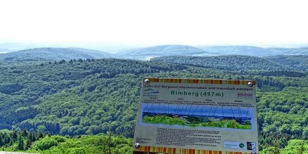 Blick vom Rimbergturm