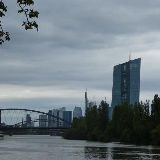 Blick von der Gerbermühle inkl. EZB