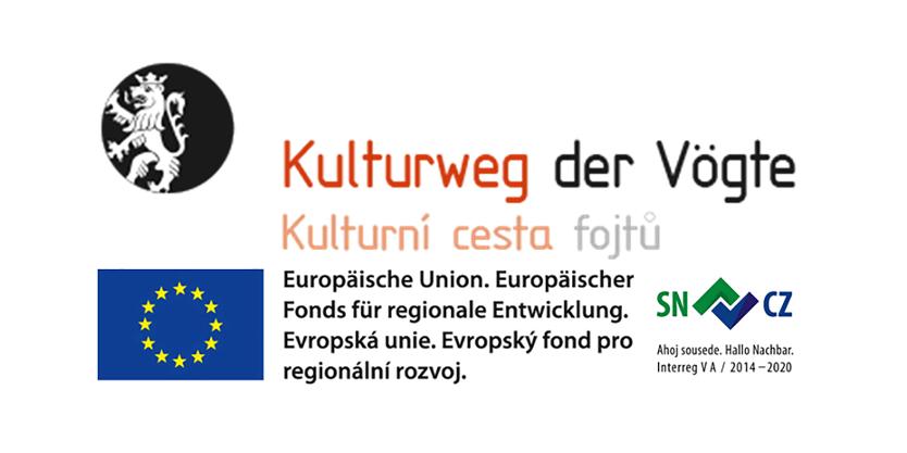 Banner Förderung Kulturweg der Vögte