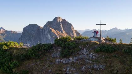 Gipfelkreuz auf dem Breitenberg