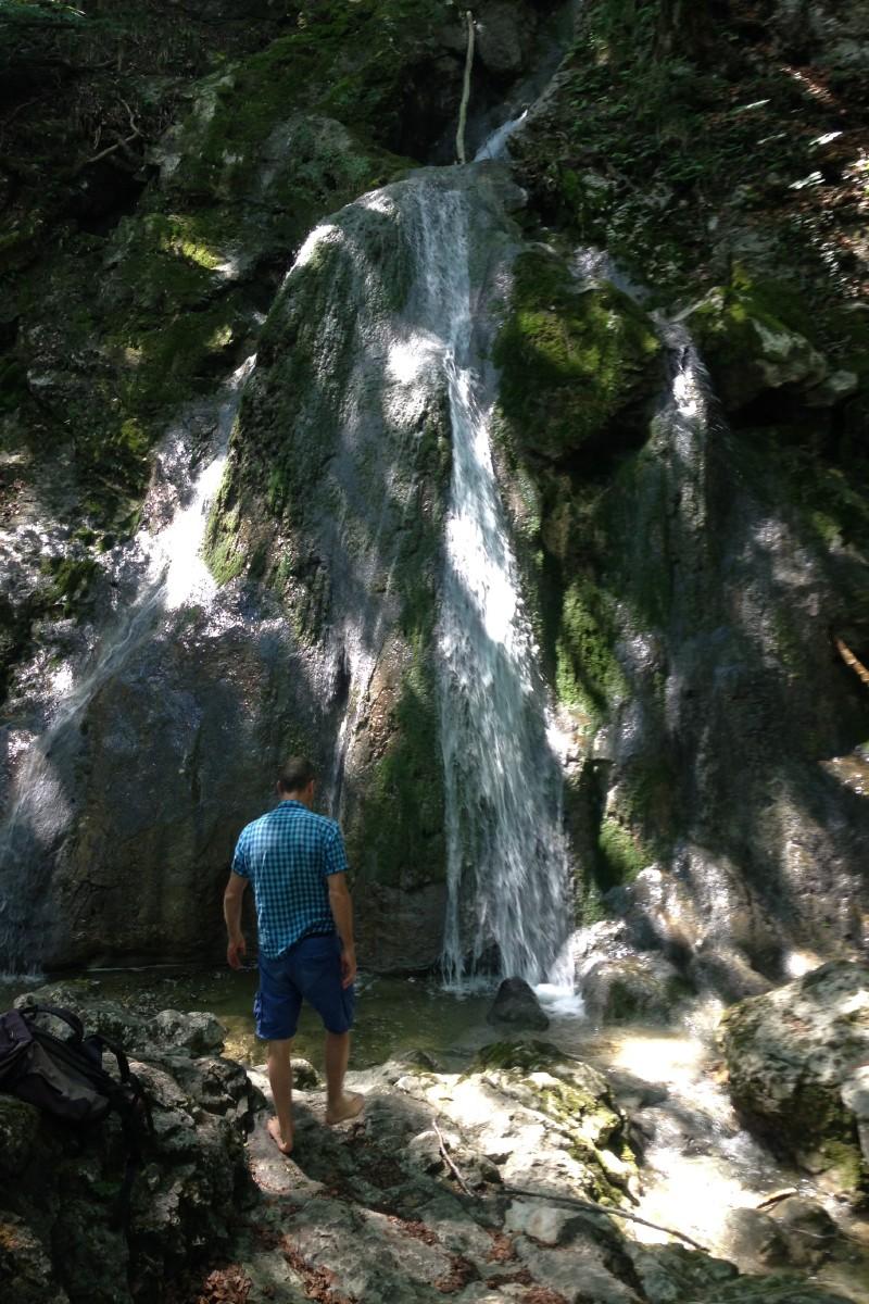 Wasserfall in Flintsbach
