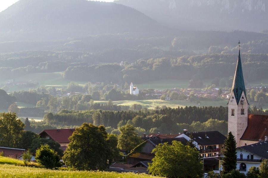 Blick von Törwang auf Grainbach