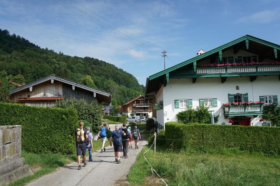 Zuweg von Aschau zur SalzAlpenTour