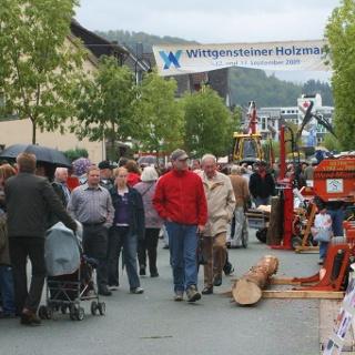 Holzmarkt Bad Berleburg Markttreiben