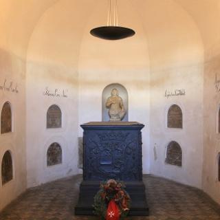 Die Fürstengruft im Unteren Schloss Siegen