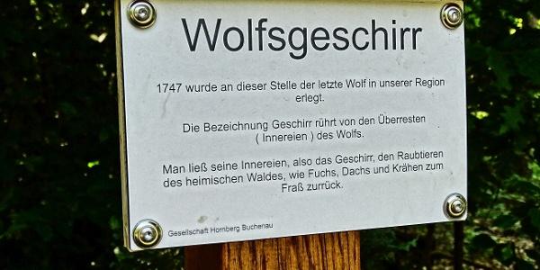 Wolfsgeschirr