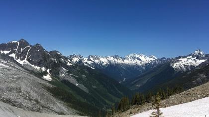 The Views in Glacier National Park