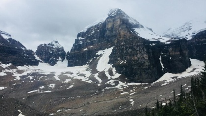 A View from Plain of Six Glaciers