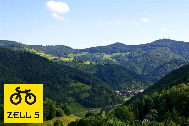 Zeller Tour 5 - Atzenbach über Riedichen - Sonnenmatt - Rohrberg