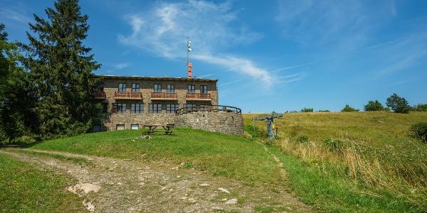 Turistaház a Nagy-Hideg-hegyen
