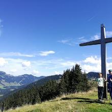 Renkknie mit Gipfelkreuz