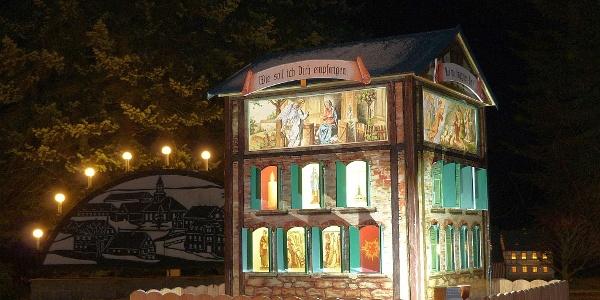 Adventskalender in Mini-Weißbach