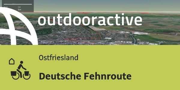 Fahrradwege Ostfriesland Karte.Tourübersicht