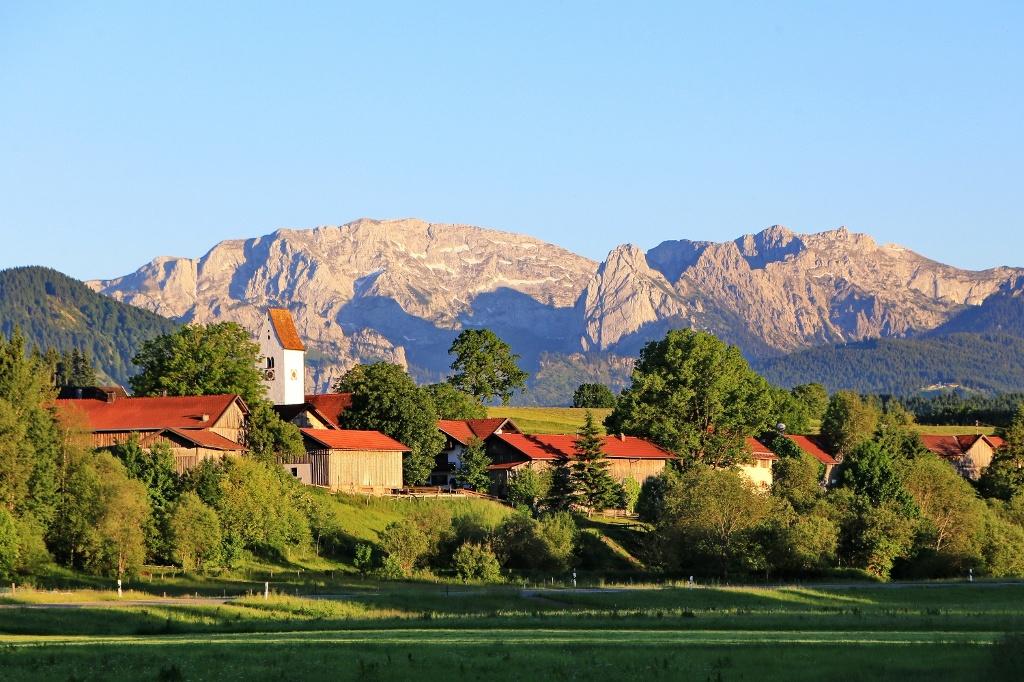 Prem liegt traumhaft schön im oberbayerischen Alpenvorland (Wilheilm Franke)