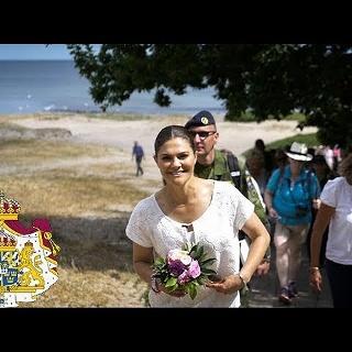 Kronprinzessin Victoria wandert in Skåne