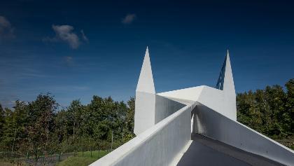 Außenansicht Autobahnkirche