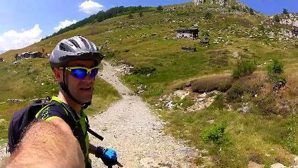 MTB Lago di Como - Alpe di Mezzo Alpe Grigiai