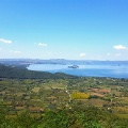 Lago di Bolsena von Montefiascone aus