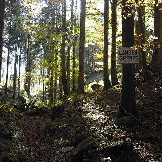 Landesgrenze Bayern - Tirol