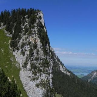 Höhepunkt der Gipfeltour: Der Schlagstein