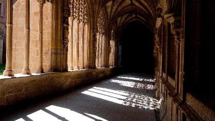 Nájera: Sta. Maria La Real, «Kreuzgang der Ritter»